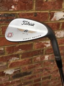 54 degree Titleist SM4 Vokey wedge, 11 degrees of bounce, Lamkin grip - Very good condition