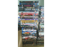Large DVD and Blu-ray Collection For Sale