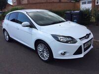 FORD FOCUS 1.0 ECOBOOST, 2012, 52500 MILES, 1 OWNER, £30 TAX,SERVICE HISTORY, 2 KEYS ONLY £6250