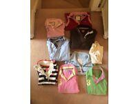Joules Bundle/Job Lot size 8-10 (incl t-shirts & jumpers)