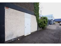 Industrial Unit, workshop, storage ground floor, secure, shutter entrance, 1 minute from M74