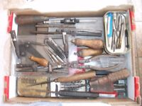 Box of Various Tools. See Ad & Pics for more details. Price is for the LOT.