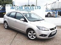 FORD FOCUS 1.6 ZETEC TDCI 5d 109 BHP A GREAT EXAMPLE INSIDE A (silver) 2009