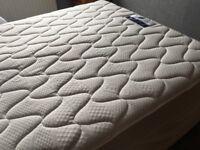 Virtually new king size miracoil mattress