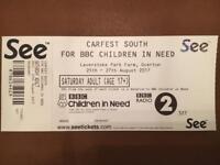 CarFest South Saturday ticket