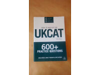 How to Master the UKCAT book, 600+ questions