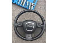 Audi A3 8P A4 B7 Steering Wheel Multi Functional S Line