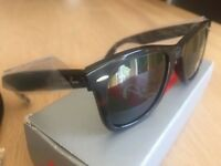 Ray-Ban RB2140 Original Wayfarer Sunglasses, Tortoise.