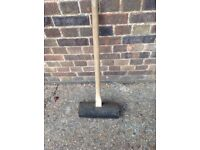 Rubber pavers'/paviors'/builders' mallet