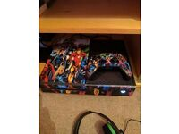 Xbox one, headset and games