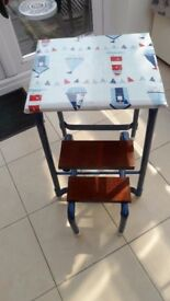 Up-cycled Nautical Theme Vintage Step Stool
