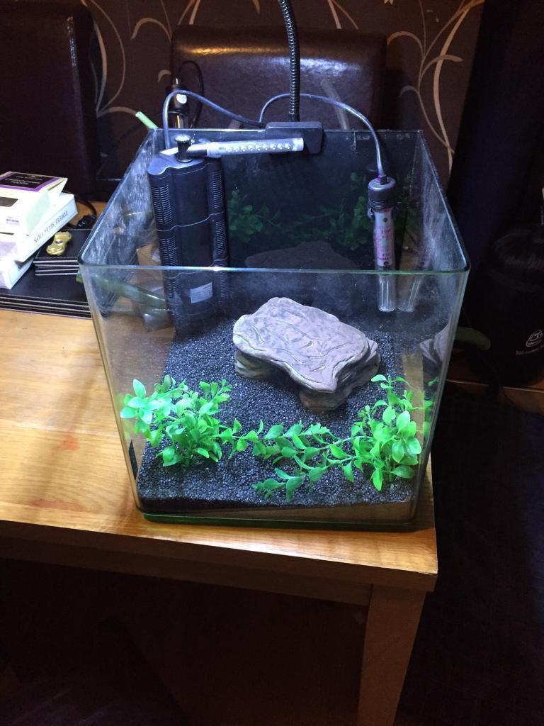 Aqua one cube fish tank £35