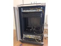 Server Cabinet - ideal for a small-medium sized office