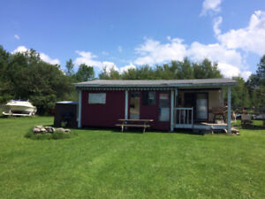 trailer with addition for sale on Curve Lake