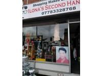 Secound hand shop