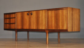 Lovely Very Large Retro 1970's Mcintosh Rosewood Wide Sideboard Cabinet