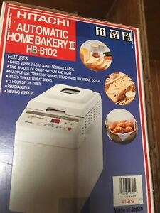 NEW hitachi breadmaker model HB-102