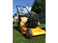 McCulloch petrol mower with Briggs & Stratton engine.