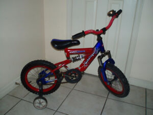 """Bikes for Boys and Girls 14"""" and 16 """" wheel - Age 4 to 8"""