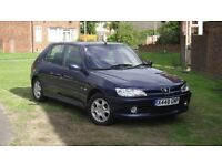 Low Mileage & Great Condition, Peugeot 306 2.0 Hdi, 90 bhp, Manual, 5 Door, Meridian, A/C.