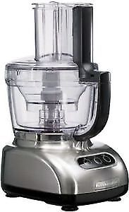 KitchenAid 12 cup Wide Mouth Food Processor in Chrome