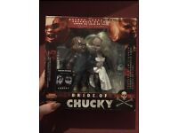 Deluxe Boxed Set Bride Of Chucky Figures