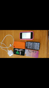 IPhone 4 with accessories