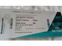 John Bishop Ticket (1)