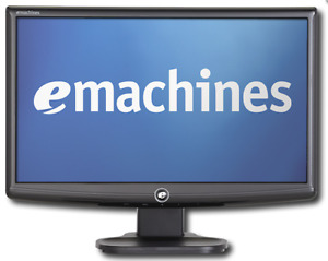 """NEW PRICE!! eMachines E183HV 18.5"""" Widescreen LCD Monitor"""