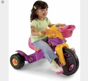 Dora pink tricycle