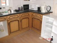 Kitchen units and door drawer fronts as seen worktop available if required.