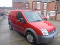 Ford Transit Connect ,TDCi T220 L75 SWB Diesel In Red, 2007 56 reg, One Owner, MOT August 2018