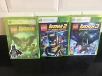Xbox 360 Batman lego games