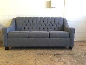 Brand New Canadian Made Tufted Sofa only $600
