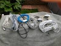 Cables job lot