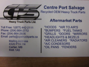 CPS Recycled Heavy Truck Parts Ltd.