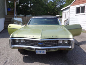 1969 Chevy Impala Convertible  ( Black Top)