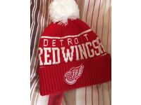 Mitchell & Hess Detroit Red Wings Knitted Hat
