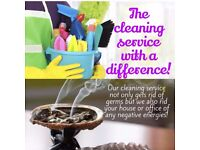 Home/office cleaning with space clearing.