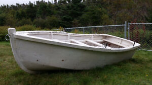 10' NL Made Wooden Pond Boat