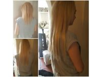 LA Weave hair extensions. Authorised technician