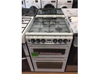 New Ex-Display NewWorld 550TSIDLM White 55cm Gas Cooker £299