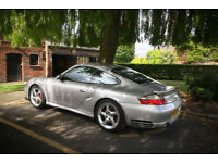 Porsche 911 (996) Turbo, Manual, Black interior