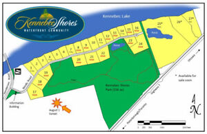 13 Large Waterfront Lots - New Lakefront Development 3.5hr from