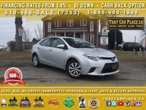 2014 Toyota Corolla LE-$55/Wk-RearCam-HtdSts-Bluetooth-AUX