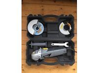 Angle grinder used once so almost new condition