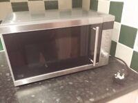 used microwave and kettle