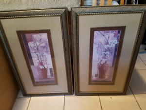Matching framed pictures