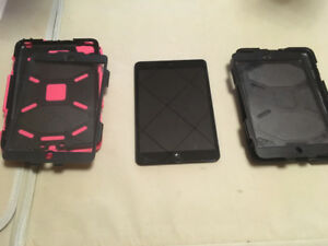 Ipad 1 mini 32 gb plus 1 Survivor Case Your Choice of Colour