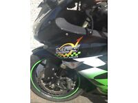 Kawasaki ZX10 R racing bike